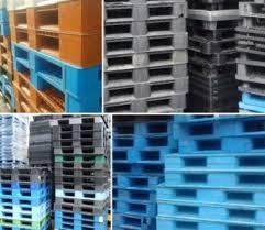 Pallet nhựa cũ Hà Nội đơn vị cung ứng số lượng lớn các loại pallet nhựa