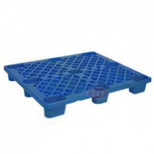 Pallet nhựa chân cốc PLC-01 XK màu xanh đậm
