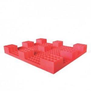 Pallet nhựa PL01LS đỏ