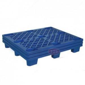 Pallet nhựa chân cốc PLC-01 màu xanh đậm